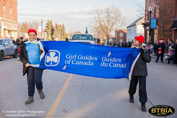 Girl Guides of Canada - Parade