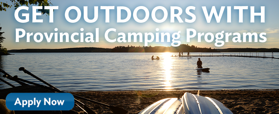 Get Outdoors with GGCON camping programs apply now